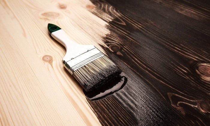 how to distress wood paneling