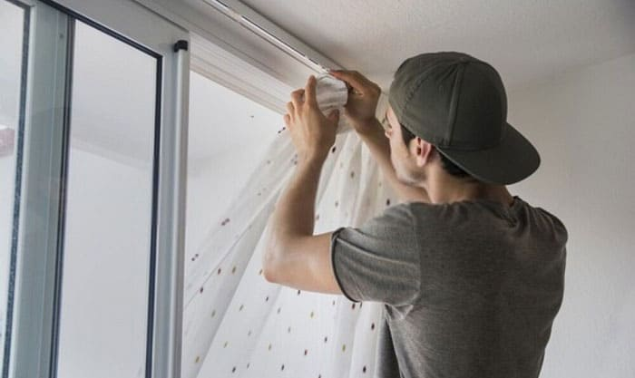 hang-curtains-from-ceiling-without-drilling