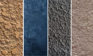 different types of wall texture